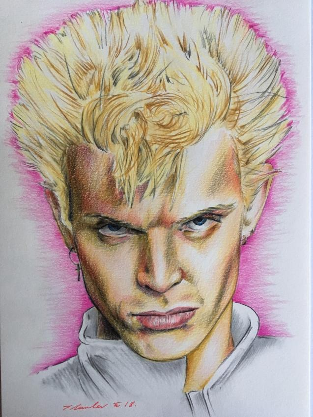 Billy Idol by TraceyLawler